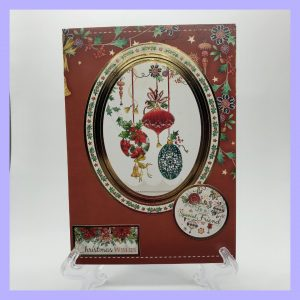 Christmas Wishes to a Special Friend handcrafted Christmas Card