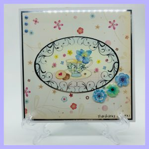 Thinking of You Im Here handcrafted greeting card