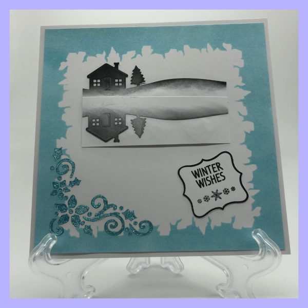 Stamp4 handcrafted Winter Wishes Card